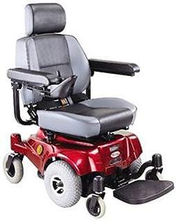 Compact Mid Wheel Drive Power Chair Burgundy