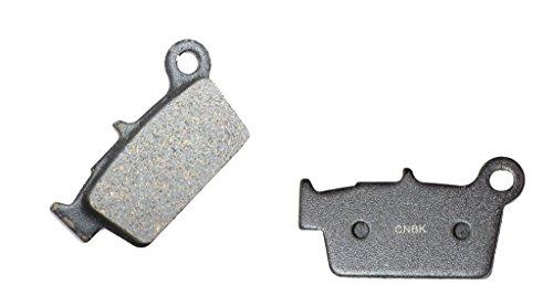 CNBK Rear Disc Brake Pads Semi-met for YAMAHA Dirt Bike YZ250 YZ 250 F 03 04 05 06 2003 2004 2005 2006 1 Pair(2 Pads)