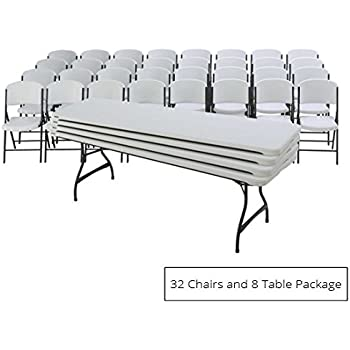 Amazon Com Lifetime 4 Pack Of Nesting 8 Tables And 32