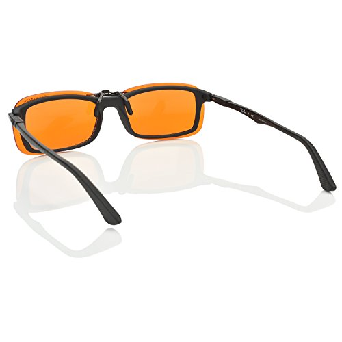 a7a7ea859e3e5 Clip-on Blue Blocking Amber Lenses for Sleep - BioRhythm - Import It All