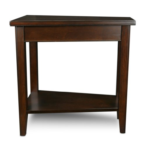 Leick Laurent Recliner Wedge End Table Import It All