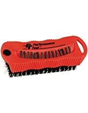 Performance Tool W9163 Utility and Fingernail Brush with Magnet/Scrub Brush