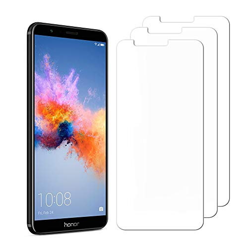 [3 Pack] Huawei Honor 7X/ Mate SE Screen Protector, Hattomen High Definition Ultra Clear and Anti-Bubble Screen Protector Film for Huawei Mate SE/Honor 7X