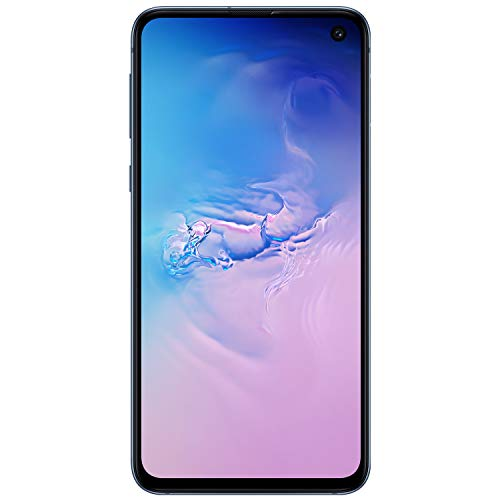 Samsung Galaxy S10e Factory Unlocked Android Cell Phone | US Version | 256GB of Storage | Fingerprint ID and Facial Recognition | Long-Lasting Battery | U.S. Warranty | Prism Blue