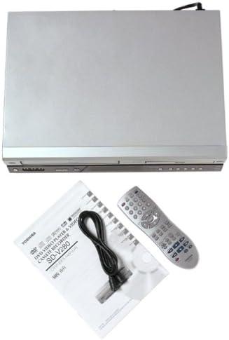 Silver Toshiba SD-V280 DVD-VCR Combo Electronics DVD Players ...