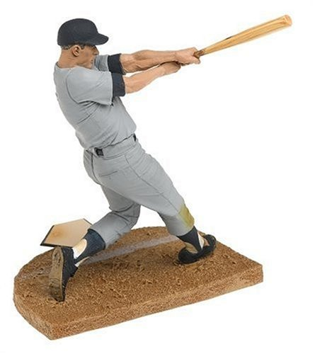 (T M P Intl Cooperstown Series 3 Mickey Mantle: NY Yankees Gray Jersey and Blue Hat)