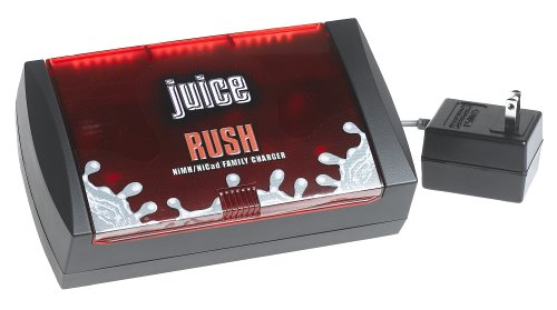 Juice Battery Family Charger - AA, AAA, C & D