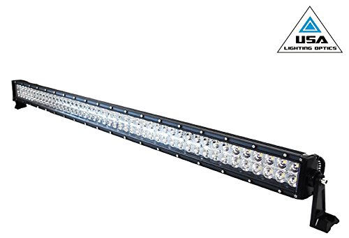 Amazon 50 inch 288w cree led light bar by usa lighting optics amazon 50 inch 288w cree led light bar by usa lighting optics tm spot flood combo beam lumens 20160lm great for offroad trucks 4x4 radius fog jeeps aloadofball Choice Image