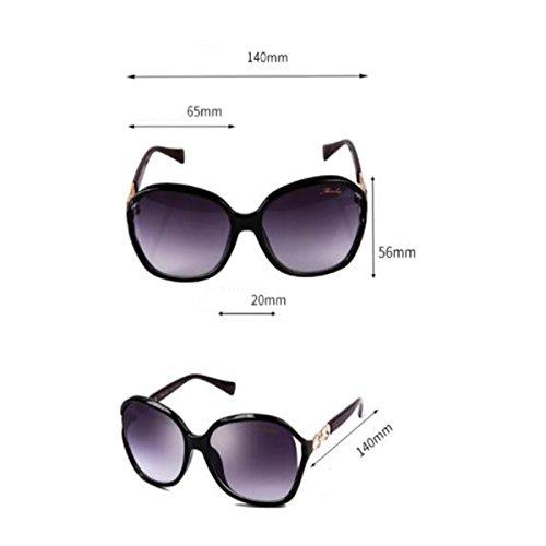 Elegantes Sol De Cara Hipster Gafas Gafas Femeninas Elegantes Subtropicales Sol Sol Limpias Blue De LQQAZY Leopard De Redonda Gafas wBEOxqp1p