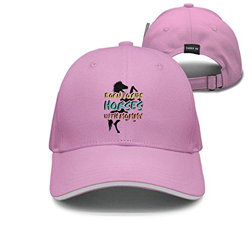 Cap Born to Ride Horses with Mommy Unisex Cap Cute for sale  Delivered anywhere in USA