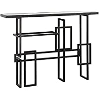 34 in. Console Table in Industrial Finish
