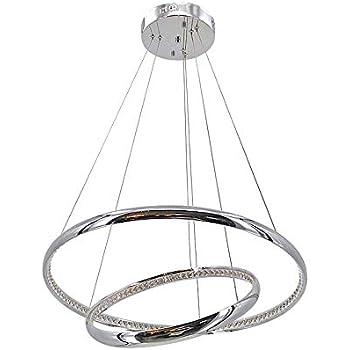 LED Crystal Pendant Chandelier lamparas de techo Lamps For ...