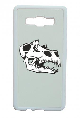 """Smartphone Case Apple IPhone 5C """"Dinosaurier vor unserer Zeit Schädel T Rex Park Skelett Rocker Motorradclub Gothic Biker Skull Emo Old School"""" Spass- Kult- Motiv Geschenkidee Ostern Weihnachten"""