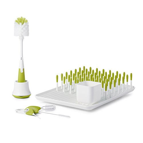 OXO TOT Bottle & Cup Cleaning Value Set with Bottle Drying R