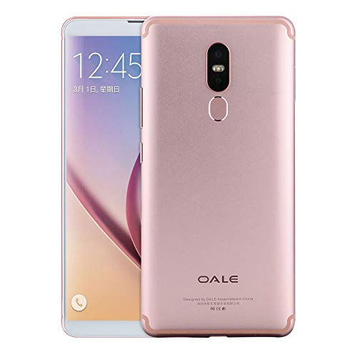 Wkgre 4G Cell Phones,6.0 Inch Android 8.1 Fingerprint Identification Smartphone 2+32G Unlocked Smartphone Rugged Phone (1 PC, Rose Gold)
