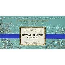 Fortnum & Mason British Tea, Royal Blend, 25 Count Teabags (1 Pack) - Model Id Rbsfl098b - USA Stock