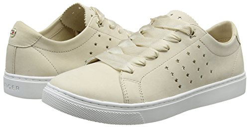 Sneaker Beige Femme Sneakers Essential Tommy tapioca Perforated Hilfiger Basses 639 twqxpv