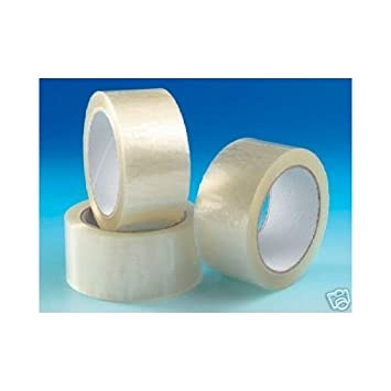 2 Inch 36 Rolls Of Strong Clear 48mm X 66m Parcel Tape Packing Packaging sello