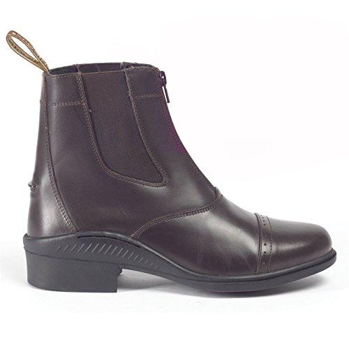 Chaussures femme Equestrian pour Tivoli Moto d'équitation brogini Marron Chaussures Bottes wAUpx8