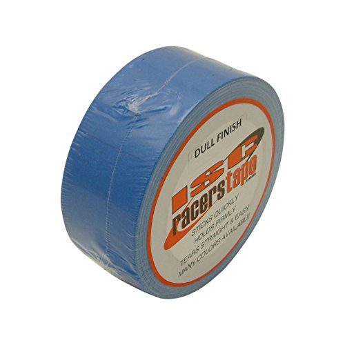 ISC Dull-Finish Racer's Tape: 2 in. x 27-1/2 yds. (Electric