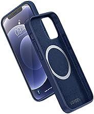 UGREEN Funda de Silicona Magnética Compatible con iPhone 12/12 Pro 6,1 Pulgadas,Carcasa Magsafe con Silicona L