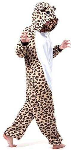 WOTOGOLD Animal Cosplay Costume Bear Unisex Adult Pajamas Brown, Large]()