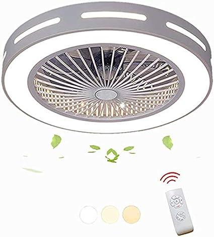 Creativa oficina moderna guardería guardería salón dormitorio lighting ventilador de techo ventilador de la lámpara decorativa LED con el ventilador de techo con mando a distancia con la energía,White