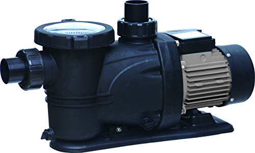 FlowXtreme NE4524 Prime above Ground Pool Pump, 5400 GPH/1HP, Black