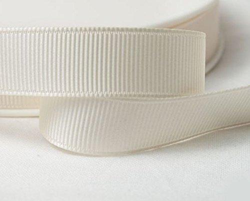 Grosgrain ribbon; 10mm wide; cream 10 metre roll: amazon.co.uk