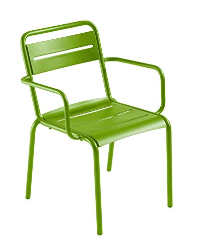 Emu - Star Armlehnstuhl - grün - Design - Gartenstuhl - Sonnenstuhl - Terrassenstuhl