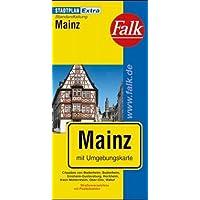 Stadtplan Mainz. 1:15 000: mit Umgebungskarte, Strassenverzeichnis.