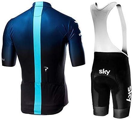 SUHINFE Maillot Ciclismo, Ropa Ciclismo y Culotte Ciclismo con 5D ...