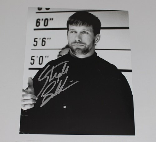 The Usual Suspects Stephen Baldwin Signed Autographed B W 8X10 Glossy Photo Loa