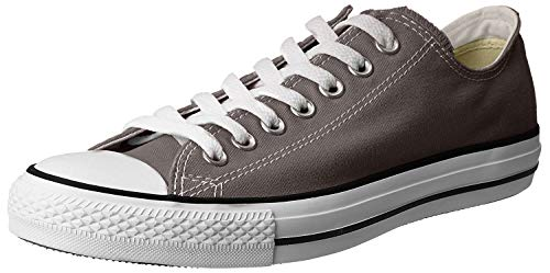 Converse Unisex Chuck Taylor All Star Low Top Charcoal Sneakers - 13 B(M) US Women / 11 D(M) US Men