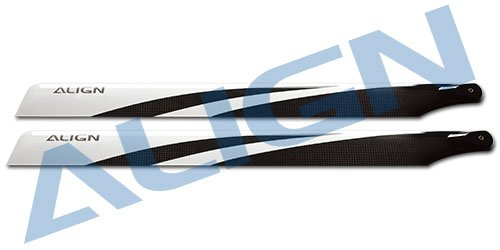 Align/T-Rex Helicopters 550 3G Carbon Fiber Blades from Align/T-Rex Helicopters