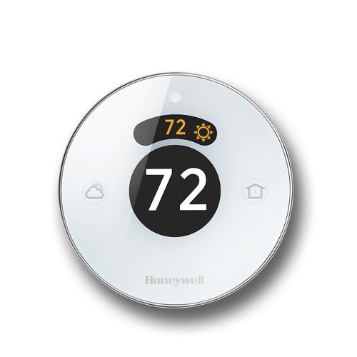 Honeywell Lyric Round Wi-Fi Thermostat, Up to 3 Heat/2 Cool