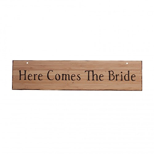 Koyal Wholesale Here Comes The Bride/Just Married Rustic ...