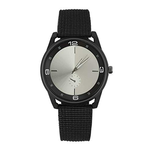 Rcool Relojes suizos relojes de lujo Relojes de pulsera Relojes para mujer Relojes para hombre Relojes deportivos,Banda de nylon de diseño retro, ...