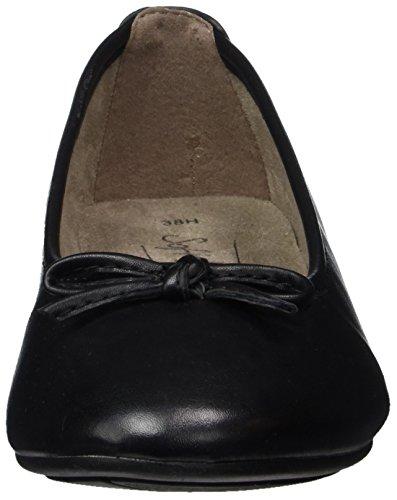 Softline 22163, Ballerines Femme, Noir (Black 001), 38 EU