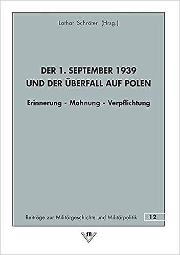 Der 1 Septemberr 1939 Und Der überfall Auf Polen Erinnerung