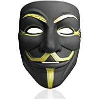 V for Vendetta Mask Anonymous Hacker Mask Halloween Costume Cosplay Anonymous Mask