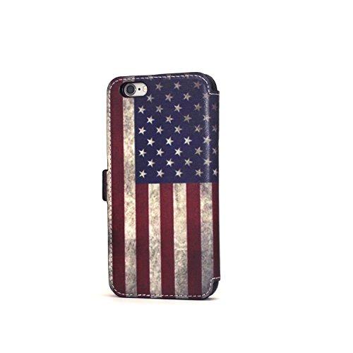 iPhone Wallet Vintage American kickstand