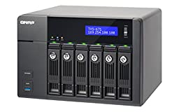 QNAP TVS-671-i3-4G-US 6-Bay Intel Core i3 3.5GHz Dual Core, 4GB RAM, 4LAN, 10G-ready (TVS-671-i3-4G-US)