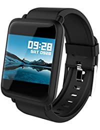 Fitness Tracker Smart Watch Bluetooth for Android iOS...