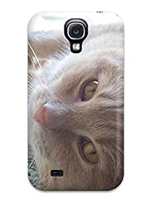 Galaxy S4 Case Cover Skin : Premium High Quality Happy Cat Case