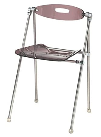 High Quality LumiSource Telescoping Chair, Set Of 2 (Plum)