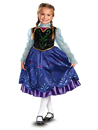 Disney's Frozen Anna Deluxe Girl's Costume, 7-8 -
