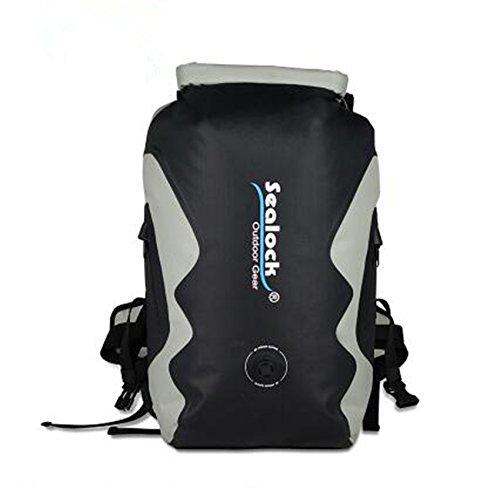 Versiegelte Wasserdichte Tasche Rucksack Outdoor Klettern Sun Paket TPU wasserdichte Tasche 30L