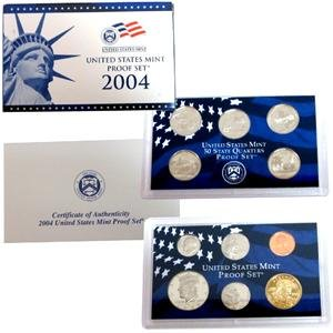 Proof Set in Original Box 2004 S 11 Coin Proof by Rare Coins