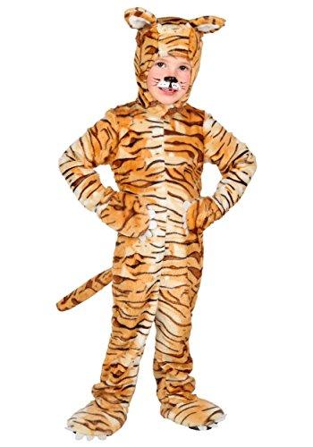 Little Boys' Tiger Costume 4T Orange,tan ()